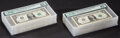 Fr. 1926-F $1 2001 Federal Reserve Notes. 100 Consecutive Examples. PMG Graded. ... (Total: 100 notes)