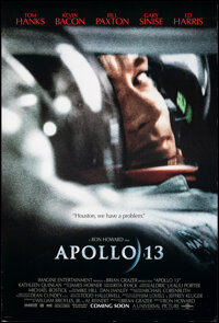 """Apollo 13 (Universal, 1995). Rolled, Overall: Very Fine-. One Sheets (2) (26.75"""" X 39.75"""") DS & SS Advance..."""