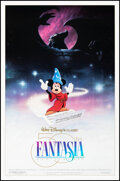 """Movie Posters:Animation, Fantasia & Other Lot (Buena Vista, R-1990). Rolled, Very Fine. 50th Anniversary One Sheet (27"""" X 41"""") DS & One Sheet (27"""" X ... (Total: 2 Items)"""