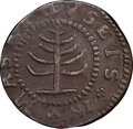 1652 Pine Tree Shilling, Small Planchet -- Surfaces Smoothed -- PCGS Genuine. XF Details. Noe-29, W-930, Salmon 11-F, R...