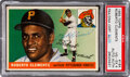 Autographs:Sports Cards, Signed 1955 Topps Roberto Clemente #164 PSA VG-EX 4, PSA/DNA Authentic. ...