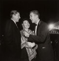 Photographs, Sid Avery (American, 1918-2002). Jack Linkletter Interviewing Ronald and Nancy Reagan, 1957. Gelatin silver print. 15 x ...