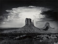 Photographs, Anthony J. Beckesh (American, 20th Century). Mittens and Thundercloud, Monument Valley, Arizona, 1982. Gelatin silver pr...