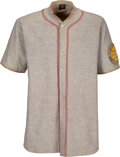 Baseball Collectibles:Uniforms, 1925 Cliff Knox Game Worn Pittsburgh Pirates Jersey with Babe Adams Pants, MEARS A9....