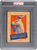 Baseball Cards:Singles (1930-1939), 1936 Wheaties Lou Gehrig (Series 4) PSA Authentic....