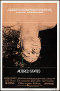 """Movie Posters:Science Fiction, Altered States & Other Lot (Warner Bros., 1980). Folded, Overall: Fine/Very Fine. One Sheets (5) (27"""" X 41"""") & Half Sheet (2... (Total: 6 Items)"""