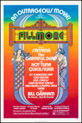 """Movie Posters:Rock and Roll, Fillmore (20th Century Fox, 1972). Folded, Fine/Very Fine. One Sheet (27"""" X 41"""") David Byrd Artwork. Rock and Roll.. ..."""