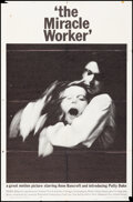 """Movie Posters:Drama, The Miracle Worker (United Artists, 1962). Folded, Fine+. One Sheet (27"""" X 41""""). Drama.. ..."""
