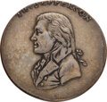 Political:Small Miscellaneous (pre-1896), Thomas Jefferson: An Important and Possibly Unique Clothing Button Picturing our Third President. ...