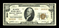 National Bank Notes:Virginia, Rocky Mount, VA - $10 1929 Ty. 2 The Peoples NB Ch. # 8984. ...