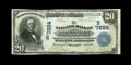 National Bank Notes:Kentucky, Barbourville, KY - $20 1902 Plain Back Fr. 650 The NB of John A.Black Ch. # (S)7284. ...