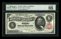 Large Size:Silver Certificates, Fr. 267 $5 1891 Silver Certificate PMG Gem Uncirculated 66 EPQ....