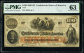 Confederate Notes:1862 Issues, T41 $100 1862 PF-6 Cr. 319 PMG Choice Uncirculated 63.. ...
