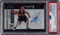 Basketball Cards:Singles (1980-Now), 2009 Playoff Contenders Stephen Curry (Autograph) #106 PSA NM 7. ...