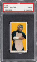 Baseball Cards:Singles (Pre-1930), 1909-11 T206 Sweet Caporal 350/30 Larry McLean PSA NM 7. ...