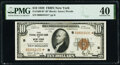 Fr. 1860-B* $10 1929 Federal Reserve Bank Star Note. PMG Extremely Fine 40
