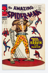 The Amazing Spider-Man #47 (Marvel, 1967) Condition: FN/VF