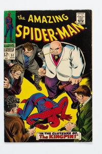 The Amazing Spider-Man #51 (Marvel, 1967) Condition: VG/FN