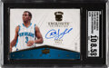 Basketball Cards:Singles (1980-Now), 2008 UD Exquisite Flawless Chris Paul (Flawless Autograph) #FLAW-CP SGC NM/MT+ 8.5, Auto 10- #'d 14/25....