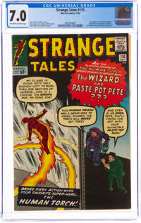 Strange Tales #110 (Marvel, 1963) CGC FN/VF 7.0 Off-white to white pages