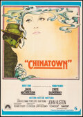 """Movie Posters:Mystery, Chinatown (CIC, 1974). Folded, Fine/Very Fine. Spanish One Sheet (27"""" X 39"""") Jim Pearsall Artwork. Mystery.. ..."""