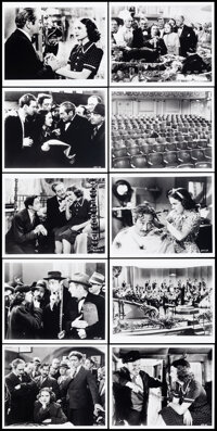 """100 Men and a Girl & Other Lot (British Film Institute, R-1990s). Overall: Very Fine+. Reprint Photos (51) (8""""..."""
