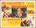 """Movie Posters:Mystery, Dr. Gillespie's Criminal Case & Other Lot (MGM, 1943). Folded, Overall: Very Fine-. Half Sheets (2) (22"""" X 28""""). Mystery.. ... (Total: 2 Items)"""
