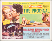 """The Prodigal & Other Lot (MGM, 1955). Folded, Fine/Very Fine. Half Sheets (3) (22"""" X 28"""") Style A. Drama..."""