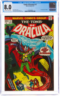 Tomb of Dracula #12 (Marvel, 1973) CGC VF 8.0 Off-white to white pages