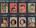 Autographs:Sports Cards, Signed 1961 Topps Baseball Near Set (515) Plus 15 Seconds - Every Card Is Autographed! ...