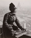 Photographs, Dmitri Baltermants (Russian, 1912-1990). Steel Worker, Moscow, circa 1953. Gelatin silver print. 5-1/2 x 4-1/2 inches (1...