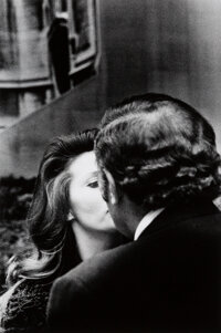 Ralph Gibson (American, 1939) Untitled (The Kiss), 1971 Gelatin silver print, printed later 12-1/