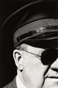 Photographs, Ralph Gibson (American, 1939). Untitled (Man in Cap and Sunglasses, from Quadrants series), 1975. Gelatin silver print o...