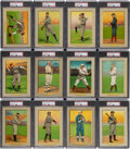 Baseball Cards:Sets, 1910-11 T3 and T9 Turkey Red Cabinet Baseball and Boxing Complete Set (126)....