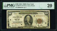 Low Serial Number 2293 Fr. 1890-B* $100 1929 Federal Reserve Bank Star Note. PMG Very Fine 20