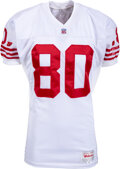 Football Collectibles:Uniforms, 1993-94 Jerry Rice Game Worn San Francisco 49ers Jersey....