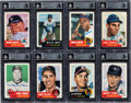 """Autographs:Sports Cards, 1991 Topps Archives """"The Ultimate 1953 Baseball Series"""" Complete Set (337) With 226 Autographed Cards! ..."""