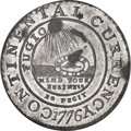 Colonials, 1776 $1 Continental Dollar, CURRENCY, Pewter, EG FECIT -- Environmental Damage -- NGC Details. Unc. Newman 3-D, W-8460, R.4....