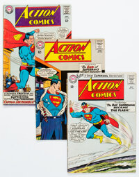 Action Comics Group of 11 (DC, 1964-67) Condition: Average VG-.... (Total: 11 Items)
