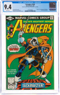 Modern Age (1980-Present):Superhero, The Avengers #196 (Marvel, 1980) CGC NM 9.4 White pages....