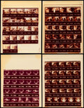"""Movie Posters:Western, The Shootist (Paramount, 1976). Fine. Contact Sheet Photos (14) (8.5"""" X 11""""). Western.. ... (Total: 14 Items)"""