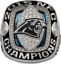 Football Collectibles:Others, 2015 Carolina Panthers NFC Championship Ring & Original Case Presented to Stephen Hill....