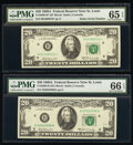 Small Size:Federal Reserve Notes, Fr. 2068-H; H* $20 1969A Federal Reserve Notes. PMG Graded...