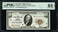 Small Size:Federal Reserve Bank Notes, Fr. 1860-A $10 1929 Federal Reserve Bank Note. PMG Choice Uncirculated 64 EPQ.. ...