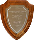 Football Collectibles:Others, 1972 Dave Wilcox First Team All-Pro Award from The Dave Wi...