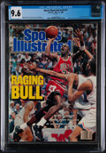 Basketball Collectibles:Publications, 1989 Sports Illustrated Michael Jordan Cover - CGC 9.6, Pop One With None Higher. ...