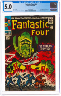 Fantastic Four #49 (Marvel, 1966) CGC VG/FN 5.0 Off-white to white pages