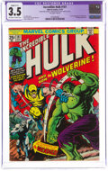 Bronze Age (1970-1979):Superhero, The Incredible Hulk #181 (Marvel, 1974) CGC Apparent VG- 3.5 Slight (C-1) Off-white to white pages....