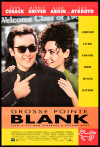 """Grosse Pointe Blank & Other Lot (Buena Vista, 1997). Rolled, Very Fine. One Sheets (2) (27"""" X 40"""") DS. Com..."""
