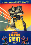 """Movie Posters:Animation, The Iron Giant (Warner Bros., 1999). Rolled, Very Fine. One Sheet (27"""" X 40"""") DS Advance. Animation.. ..."""